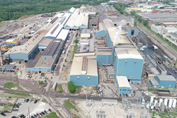 Aerial view of Cleveland facility