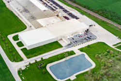 Aerial view of Fostoria facility
